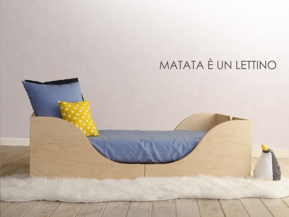 Letto Per Bambini Montessori : Lettino montessoriano matata ispirato alla filosofia montessori